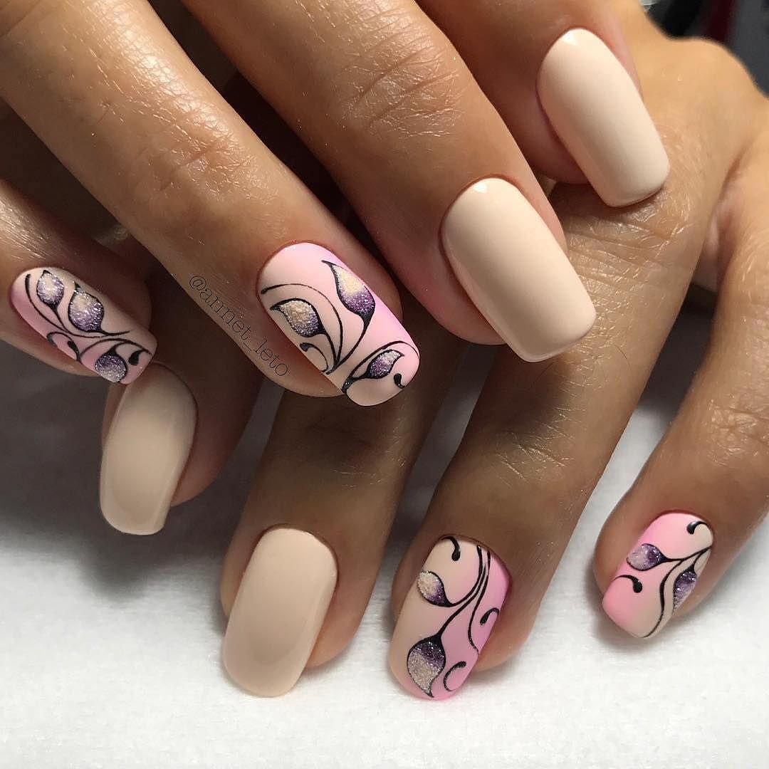 Как Красиво Нарисовать Рисунок На Ногтях