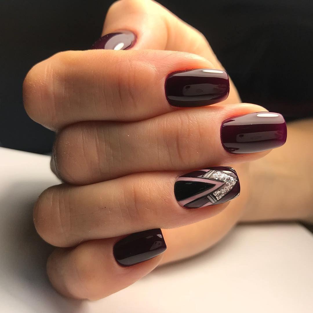 Ногти Миндальной Формы Дизайн Фото Гель Лак