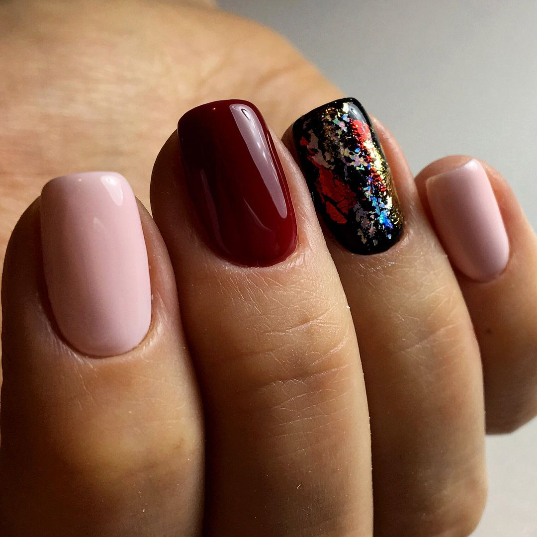 файлы дизайн ногтей осень шеллак фото выполнения данной