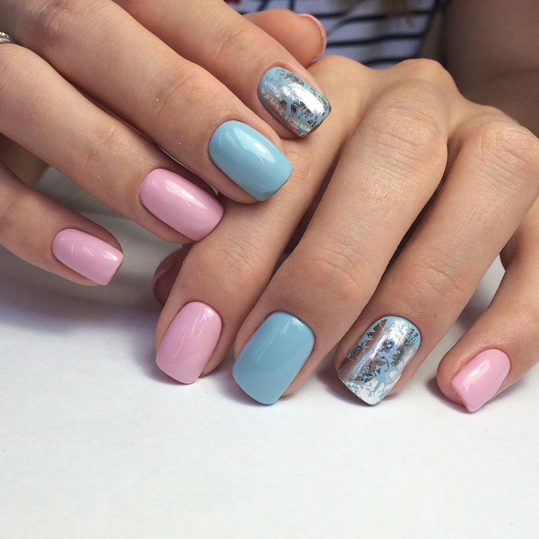 Ногти Гель Лак Светлые Тона Фото