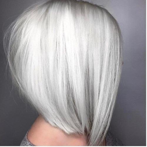 Белый цвет волос: 46 фото-идей красивого окрашивания