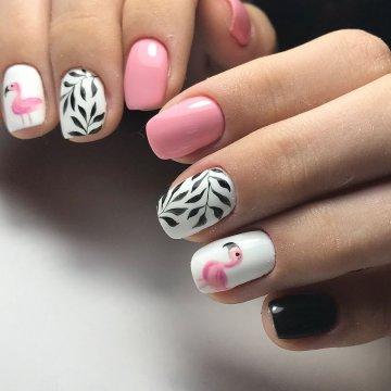 Нарощенные ногти френч - 110 фото 17 видеоуроков | 360x360
