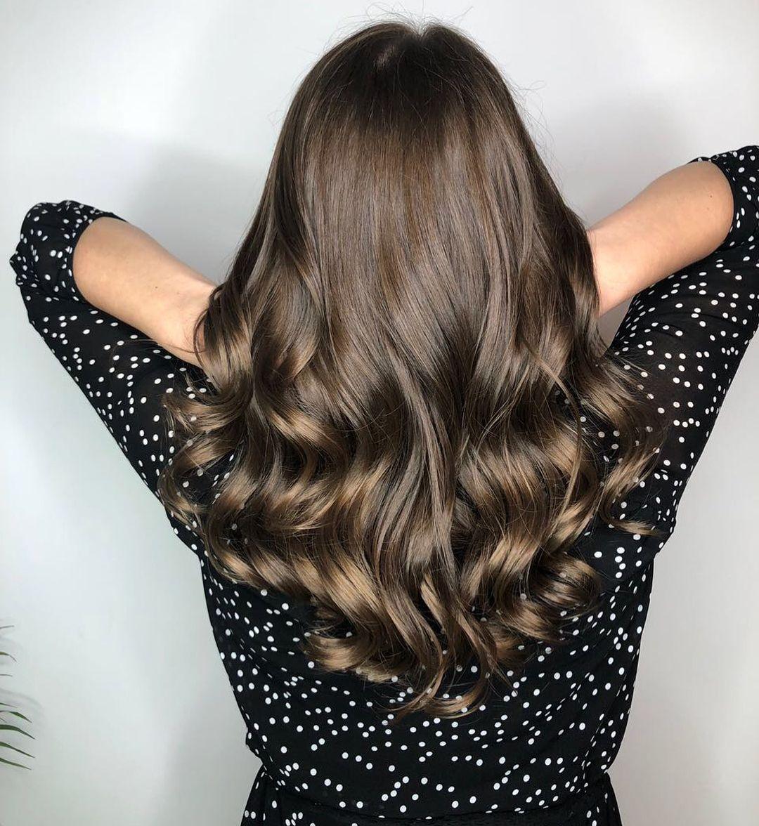 Однотонный цвет волос фото