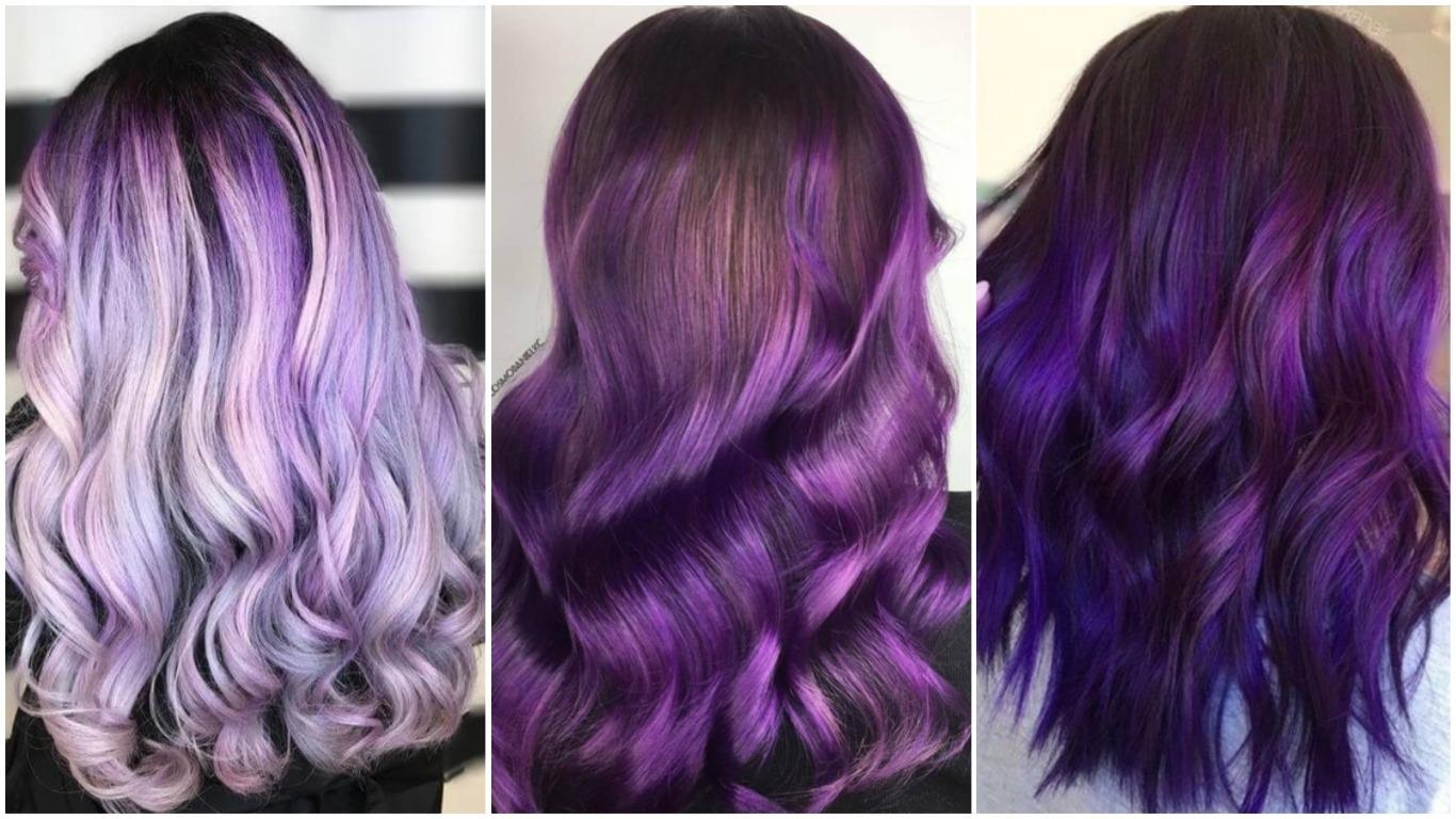 Цвет волос разными цветами фото
