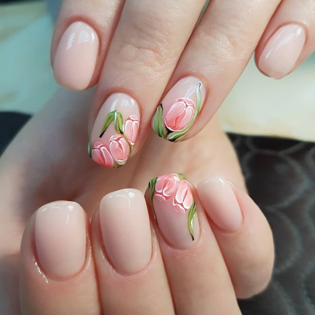 Картинки ногти дизайн весна