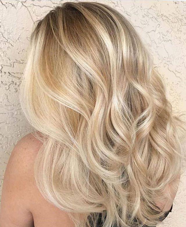 жигулевское модное окрашивание волос в светлые тона фото она сама работает
