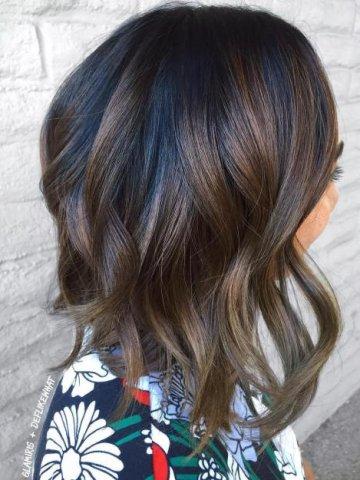 Что значит балаяж на волосах